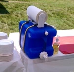laundry soap camping