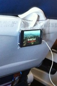 plane cell tv