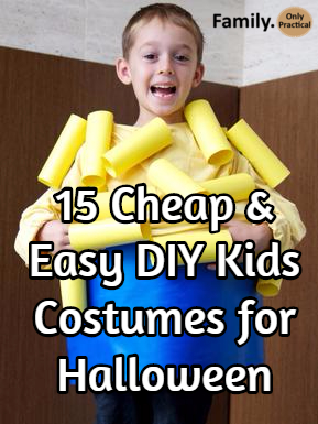 15 cheap and easy kids costumes for Halloween